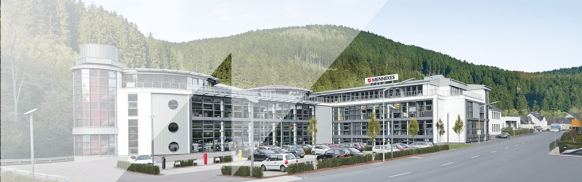A picture showing the company building of MENNEKES Elektrotechnik